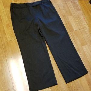 Dressbarn black dress slacks sz 18W